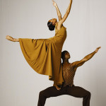 Alvin Ailey dancers Glenn Allen Sims and Linda Celeste Sims in Revelations. Photo by Andre Eccles.