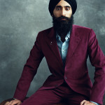 Waris Ahluwalia, 2011. Norman Jean Roy, photographer. © Norman Jean Roy.  Courtesy of The House of Waris.