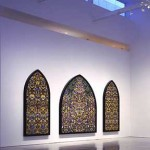 Damien Hirst, Kingdom of the Father, butterflies and enamel on panel, 2007.
