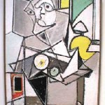 Arshile Gorky, Composition with Head, oil on canvas, 1936-7.