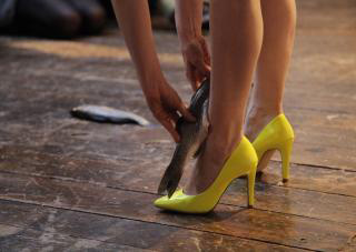 Go and See Yellow Shoes