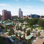 Rendering of the Future Kennedy Plaza 2, Credit: Design:Union Studio Illustration: Tim Nelson