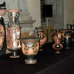 Pictured are a number of the objects returned in an agreement between the MFA, Boston and the Italian Ministry of Culture