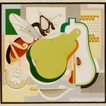 Gerald Murphy, Wasp And Pear, oil on canvas, 1929. Art © Estate of Honoria Murphy Donnelly/Licensed by VAGA, New York, NY