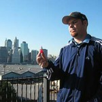 Where in Manhatten will Lee part with his little red ball?