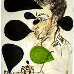Sam Messer, Untitled, mixed media on paper, 2009.