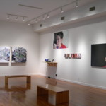 Installation view at the Howard Yezerski Gallery