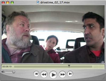George Fifield discusses the Boston Cyberarts Festival with Sonia and Ravi on DriveTime.