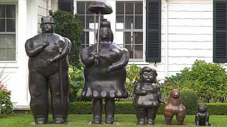 Sculptures by Fernando Botero