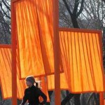 Christo's Gates in Central Park, NYC.