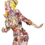 Jacques Louis Vidal, Dolly, Photo Collage on archival paper, 2007