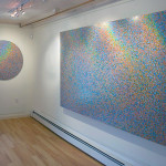 Installation view of Rainbows Are Gay by Ryan Turley. Image courtesy of the artist