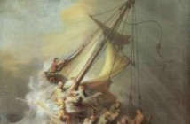 Rembrandt Harmenszoon van Rijn, Christ in a Storm on the Sea of Galilee, the only seascape ever painted by Rembrandt was stolen from the Gardner Museum.