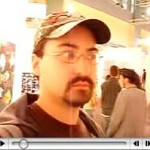 Click here for a video of Aishman at Art Basel Miami in 2006