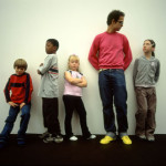 image of Tino Sehgal NOT performing one of his pieces's with children.