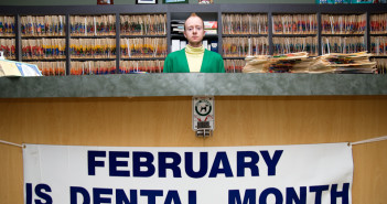 Caleb Cole, from the series Other People's Clothes, titled February is Dental Month, 2008