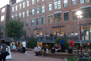 A view of SOWA First Fridays from 2008. Photo courtesy of James Manning.