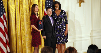 AS220 Youth honored at White House (Photo credit: Steven E. Purcell, Photographer, LLC)