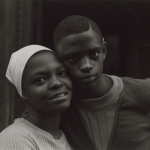 Untitled, [Close Up of Boy and Girl with Faces Together], from East 100th Street series Bruce Davidson (American, born in 1933) 1967–68, printed 1969 Photograph, gelatin silver print *Museum of Fine Arts, Boston.  Museum purchase with funds donated by Haluk and Elisa Soykan and the Ernest Wadsworth Longfellow Fund *© Bruce Davidson/Magnum Photos *Courtesy Museum of Fine Arts, Boston