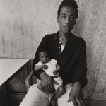 Untitled, [Young Man Holding Baby in Luncheonette], from East 100th Street series Bruce Davidson (American, born in 1933) 1967–68, printed 1969 Photograph, gelatin silver print *Museum of Fine Arts, Boston.  Museum purchase with funds donated by Haluk and Elisa Soykan and the Ernest Wadsworth Longfellow Fund *© Bruce Davidson/Magnum Photos *Courtesy Museum of Fine Arts, Boston