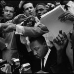 Bruce Davidson Time of Change (Dr. Martin Luther King, Jr., at a Press Conference) in Birmingham, Alabama, 1963 Courtesy of Robert Klein Gallery