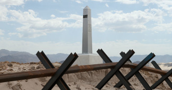 David Taylor, Border Monument No. 227, 2009. Archival inkjet print. Courtesy of James Kelly Contemporary.