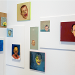Installation view of Steve Locke: there is no one left to blame at the Institute of Contemporary Art/Boston. Photo: John Kennard
