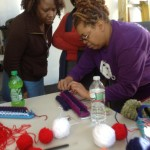 Saturday Mother & Daughter Craft Class at the Erick Jean Center for the Arts, Dorchester Arts Collaborative. Courtesy of the DAC.