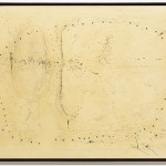 Lucio Fontana, Concetto spaziale 57 CA 3 (Spatial Concept 57 CA 3), 1957.  The Museum of Modern Art, New York, gift of Morton G. Neumann,  © 2012 Artists Rights Society (ARS), New York / SIAE, Rome.