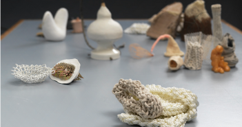 Laura Evans, Not Just One Thing, 2013, mixed media On view at Boston Sculptors Gallery Image © Laura Evans