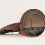 David Emitt Adams, Smelter, Tintype on found object from the Sonoran Desert, 2012. Image Courtesy of the Artist