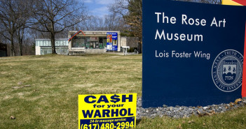 Geoff Hargadon, Cash for your Warhol Installation at the Rose Art Museum