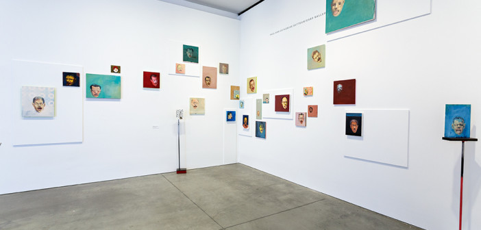 Installation view of Steve Locke: there is no one left to blame at the Institute of Contemporary Art/Boston. Photo: John Kennard.
