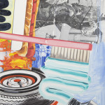 David Salle Self-Expression, 2015 oil, acrylic, charcoal, archival digital print and pigment transfer on linen 102 x 78 inches Image courtesy Skarstedt, New York