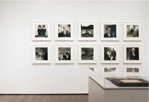 A gallery at the new Harvard Art Museums, with photographs from the collection of the Fogg Museum. Photo: Steven Waldron.