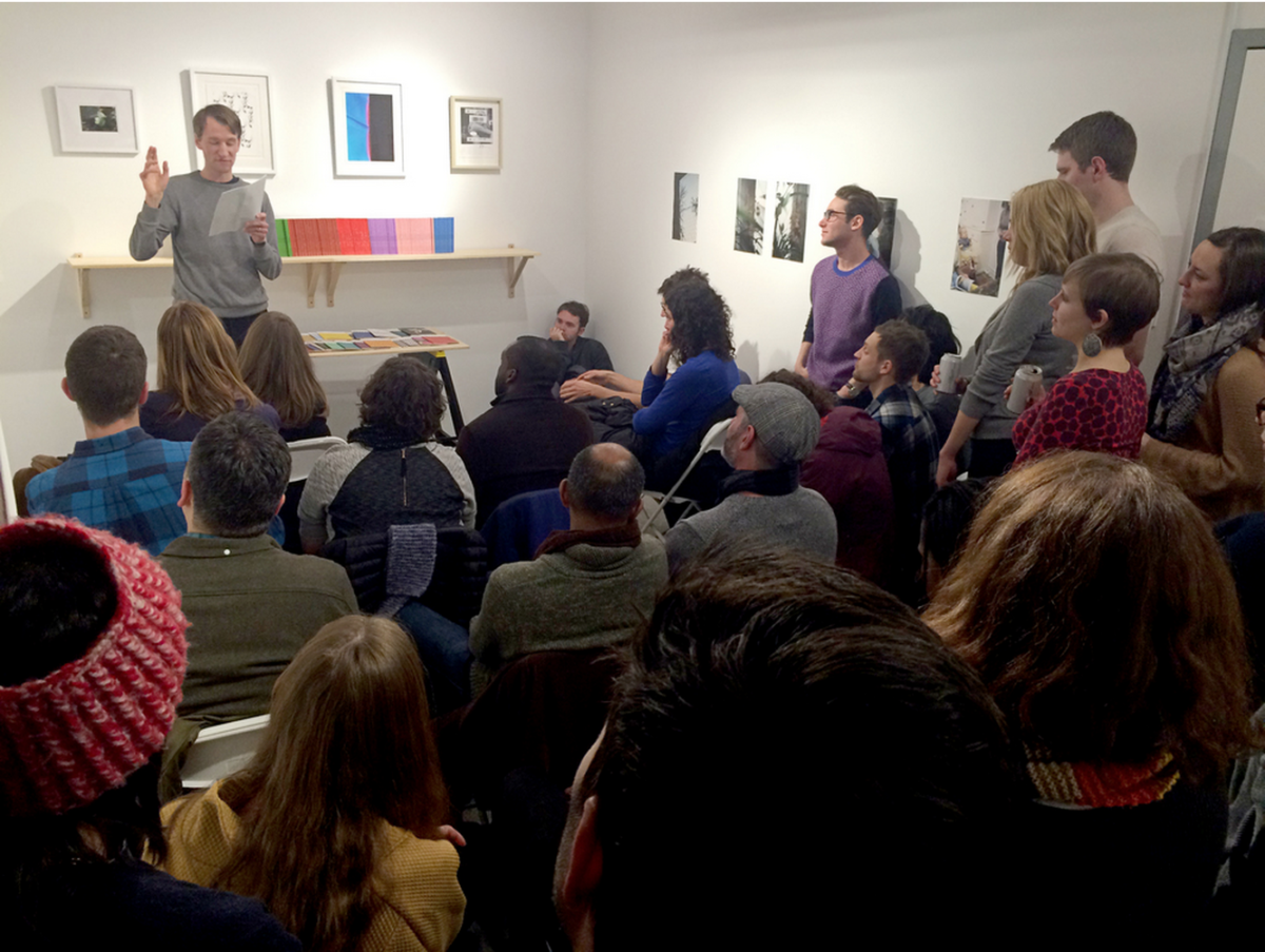A reading by Geoffrey Hilsabeck as part of The Song Cave: Boston at kijidome, February 2015