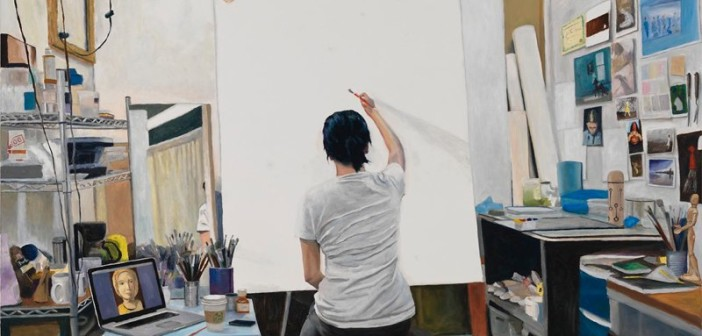 Blank Canvas by Helena Hsieh. Image courtesy of the artist