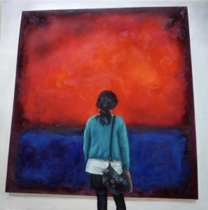 Rothko and I by Helena Hsieh. Image courtesy of the artist
