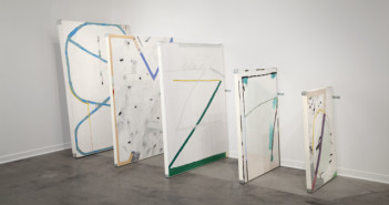 Installation at Re:View Gallery in Detroit, by Ian Swanson. Image courtesy of the artist
