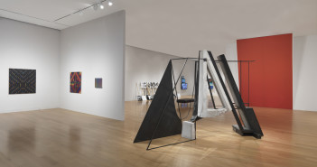Installation view of The 2013 deCordova Biennial.  Photograph by Clements Photography and Design, Boston.