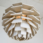 Artichoke Lamp by Letha Wilson. Image courtesy of the artist