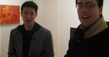 Paul Lam, of Locco Ritoro Gallery and William Kerr of Gallery XIV