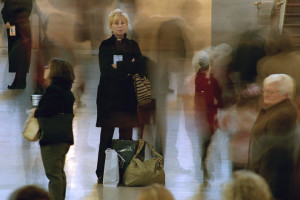 Untitled photo from Grand Central Terminal series by Chuck Chaney