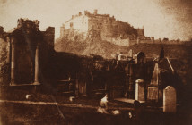 Robert Adamson and David Octavius Hill, Edinburgh Castle from Greyriars, 1843-1847. Mary B. Jackson Fund. RISD Museum, Providence, RI.