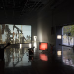 Rosa Barba: The Color Out of Space Exhibition installation view at MIT List Visual Arts Center Photo: Peter Harris