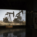 Time as Perspective, 2012 35mm color film, optical sound; 12 min. Installation view at MIT List Visual Arts Center Photo: Peter Harris