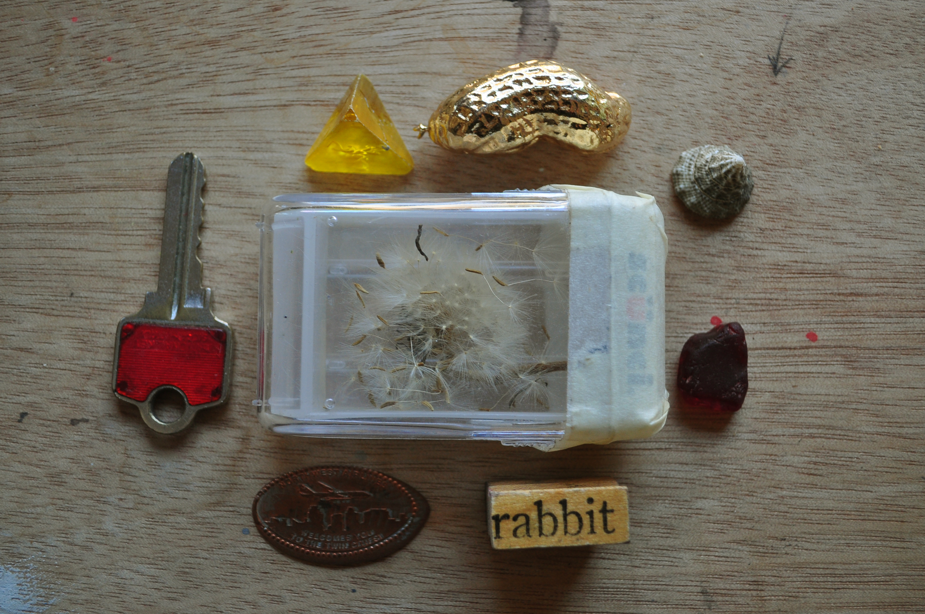 Collected objects of Caitlin Duennebier