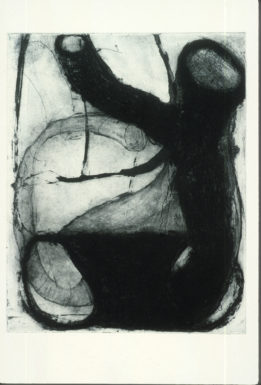 """Tory Fair, """"Untitled,"""" 1996. Etching, 6X9."""" Photo courtesy the artist."""