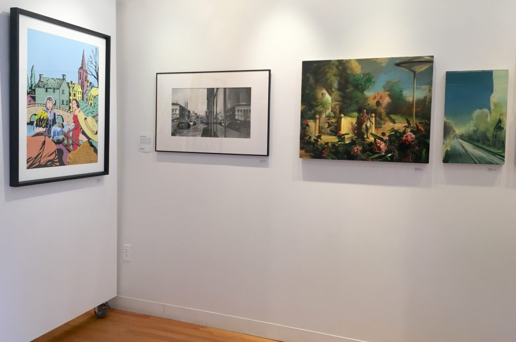 Works by Daniel Benayun, Kate Sullivan, and Wilhelm Neusser in TENFOLD.