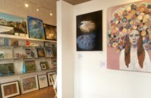 13Forest with works by Nicole Duennebier and Mia Cross in TENFOLD.